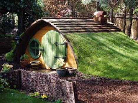 How To Make A Grass Roof Shed