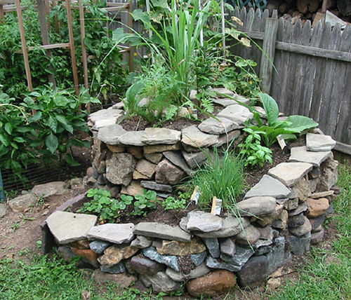 Permacultuur for Idea de deco garden rockery